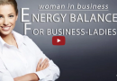 Woman health – Balance woman in business