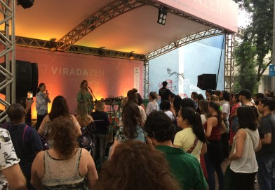 Diana Suemi  attended a charity event in San Paulo